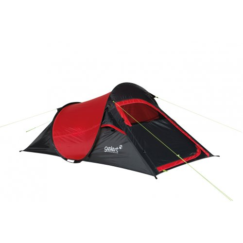 Gelert Wurfzelt Quickpitch Compact 2 mars red/charcoal