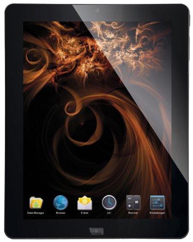 CMX Aquila MID 24,6 cm (9,7 Zoll) Tablet-PC (AMD, 1,5GHz, 1GB RAM, 16GB HDD, Android 4.0) schwarz (Pc Tablet Mid)
