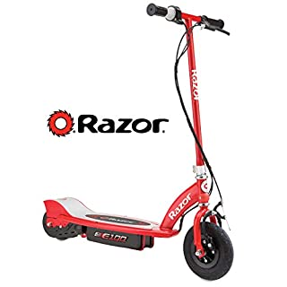 Razor - 13181160 - Vélo et Véhicule pour Enfant - Patinette Électrique E100 - Rouge (B000BYCC0G) | Amazon price tracker / tracking, Amazon price history charts, Amazon price watches, Amazon price drop alerts