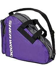 Sherwood Schlittschuhtasche Skate Bag - Bolsa de deporte, color Morado, talla 36 x 16 x 36 cm