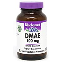 DMAE, 100 mg, 100 Vcaps by Bluebonnet Nutrition