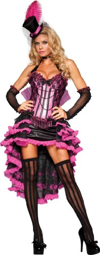 Sexy Beauty Kostüm Burlesque - Sexy Burlesque Beauty Adult Costume Small
