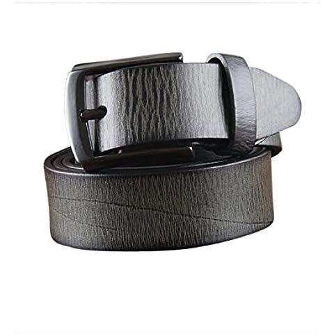 Menschwear Cintura da uomo Cinture in vera pelle fibbia in
