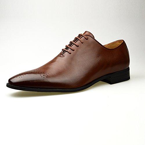 Mode homme New Oxford Chaussures formelles en cuir noir avec Taille UK 6, 7, 8, 9, 10 11 peau