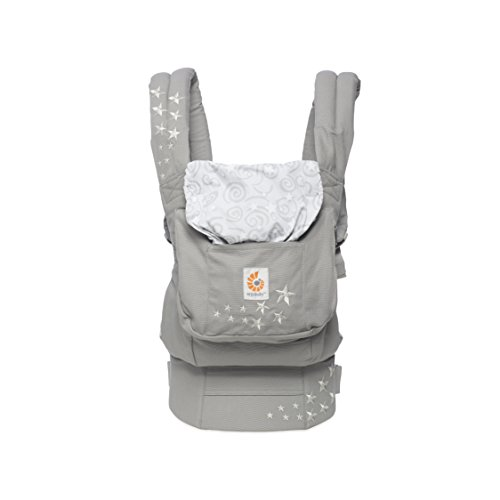 ERGObaby BCANGALAXY Babytrage Original, (5,5 - 15 kg) Galaxy Grey