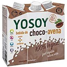 YOSOY Bebida de Avena con Avellanas y Cacao 250ml [caja de 8x3x250ml]