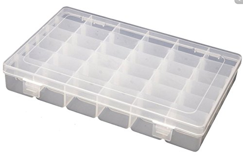 accmarttm-36-compartment-slot-plastic-storage-box-organizer-for-jewellery-hair-accessories-clear-whi