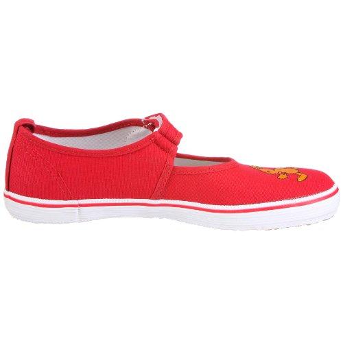 Felix der Hase Nessie 144773, Chaussures de gymnastique mixte enfant Rouge - V.1