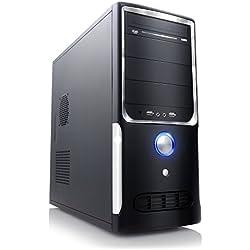 Leiser Aufruest-PC A20277 - FX-4300 - Office QuadCore! AMD FX-4300 4x 3800 MHz, 4GB DDR3, Radeon HD 3000, 7.1 Sound, USB 3.1, ohne Betriebssystem