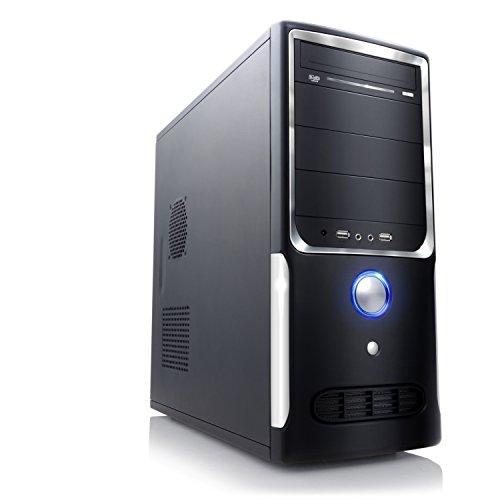 Leiser Aufruest-PC A20277 – FX-4300 – Office QuadCore! AMD FX-4300 4x 3800 MHz, 4GB DDR3, Radeon HD 3000, 7.1 Sound, USB 3.1, ohne Betriebssystem