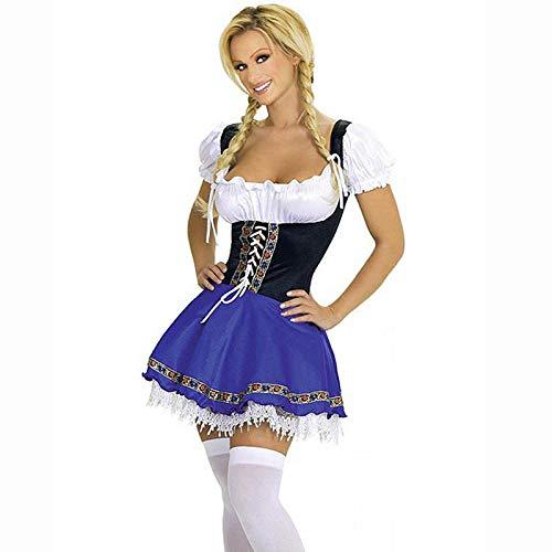 Kostüm Halloween Maid Uniform Bar Lady Sexy - Sexy Bar Maid Kostüm