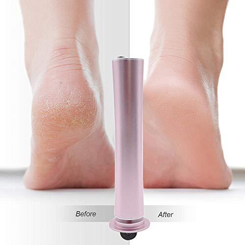 Elektrische Callus Entferner, WooyMo professionelle elektronische Fußdatei Pediküre Maschine mit 60pcs Schleifscheibe, USB Fußpflege-Tool für entfernt Dead Dry Hard Skin Calluses