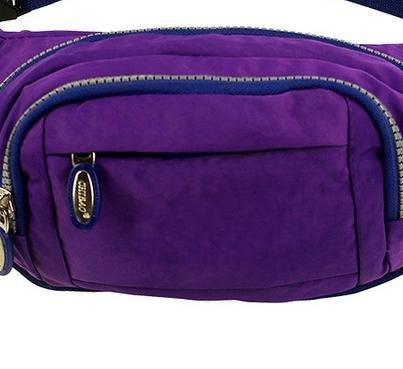 Z&HX sportspurse Hip Pack Reisetaschen Bergsteigens Tasche Rucksack im Freien Multifunktions deep purple