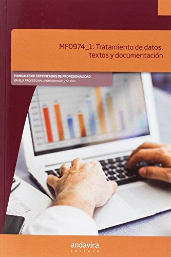 Tratamiento de datos, textos y documentación por Aa.Vv.