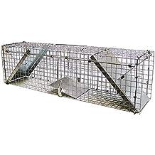 Jaula Trampa para Hurones, Conejos, Gatos y Otras