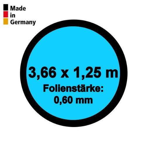 Pool Innenhülle Rund 3,66m x 1,25m Folienstärke 0,60mm