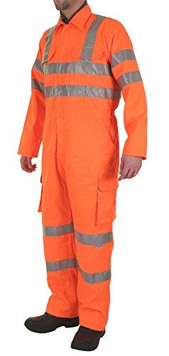 railspec Overall Orange 48