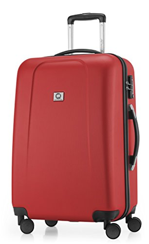 HAUPTSTADTKOFFER - Wedding -  Valigia Trolley rigido ABS TSA 4 ruote, 65 cm, 67 litri, Rosso