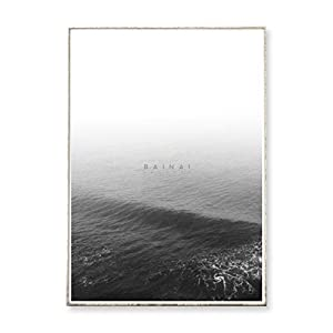 DIN A3 Kunstdruck Poster THE SEA °2 -ungerahmt- Ozean, Wellen, Meer, minimalistisch