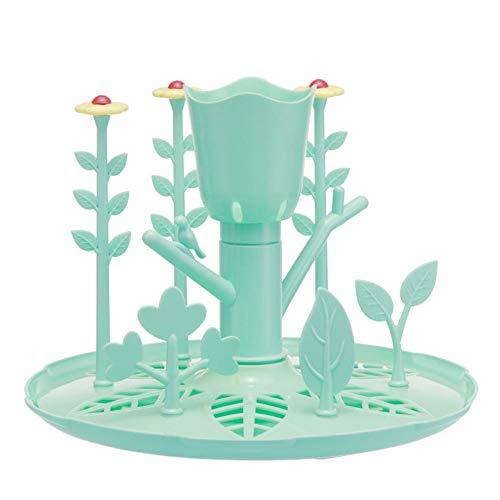NROCF Babyflaschen-Wäscheständer, Umweltfreundliches Material, Tragbarer Garten-Aufbewahrungs-Wäscheständer