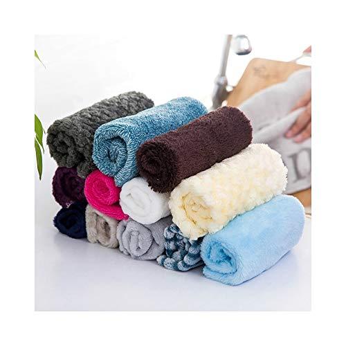 CFMBLLL Bambusfaser Geschirrtuch Küchenreiniger Abwischen Waschlappen Auto Reinigungstuch Tuch Bad Staub Händetrockner Handtuch -