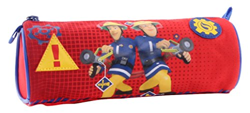 Fireman Sam 900-8013 «in Case of Emergency Round Pencil Case
