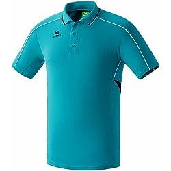erima Poloshirt Gold Medal - Camiseta de ping pong para hombre, color turquesa, talla XL/2XL