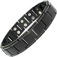 IonTopia Python Magnettherapie-Armband aus Titan, mit Gliederentfernungswerkzeug preisvergleich bei billige-tabletten.eu