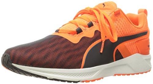Puma Ignite XT v2 Synthétique Chaussure de Course Asphalt/Shocking Orange