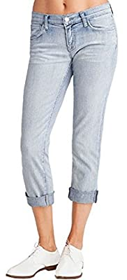 J Brand Blue Jeans Tg.29 Aoki Low-Rise Cropped Cuffed Afterlife 9036c032/e