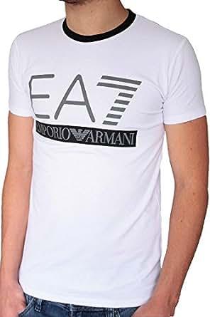T-shirt EMPORIO ARMANI homme manches courtes blanc