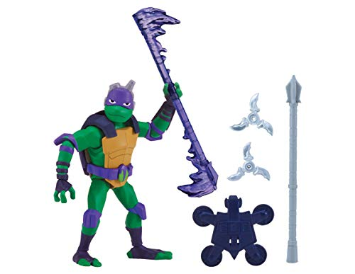 Teenage Mutant Ninja Turtles tuab0400 Donnie die Tech Wizard Der Aufstieg Basic Action (Ninja Turtles Figur)