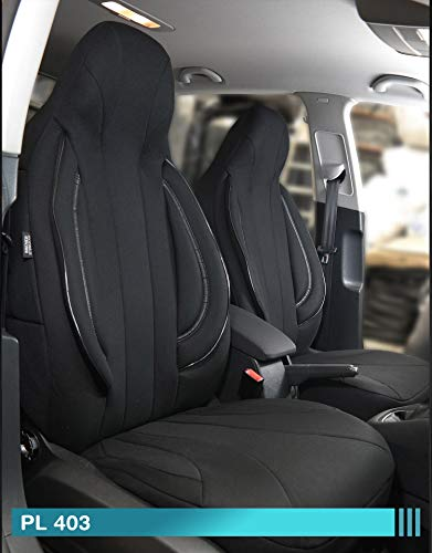 Maß Sitzbezüge Ford Focus 1 Fahrer & Beifahrer ab BJ 1998-2004 Farbnummer: PL403 - Sitzbezug 1998 Ford