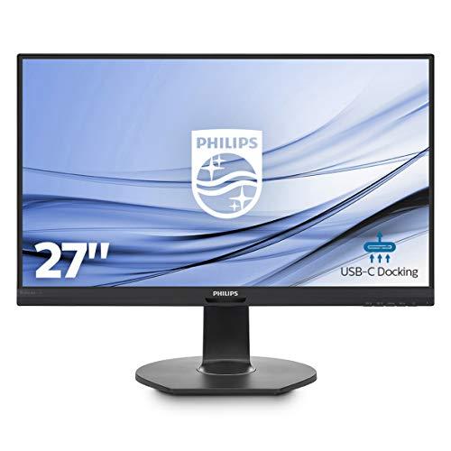 """Philips B Line 272B7QUPBEB écran Plat de PC 68,6 cm (27"""") Compatibilité 3D Quad HD LCD Mat Noir - Écrans Plats de PC (68,6 cm (27""""), 2560 x 1440 Pixels, Quad HD, Compatibilité 3D, 5 ms, Noir)"""