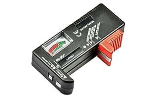 Leegoal Battery Tester For D 9 Volt Rectangular And Button Cell Batteries