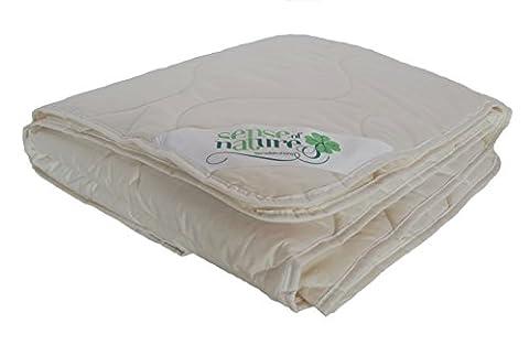 Sense of Nature Tea200200BIO Organic Single Duvet Cotton, Cream, 200x 200x 2cm