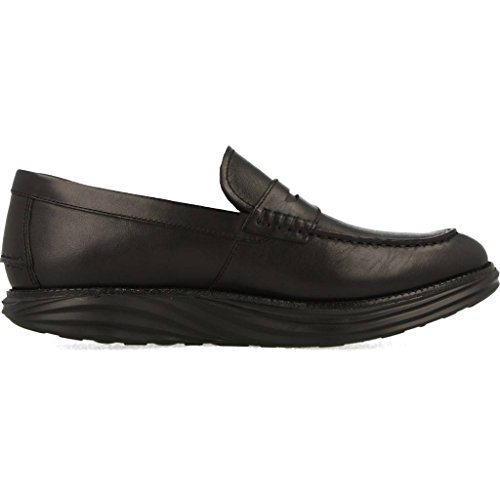 MBT Herren Boston Loafer M Slipper Schwarz (03N)