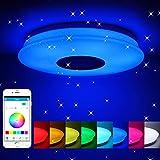 Winbang Luz de techo LED, música inteligente Luces de techo