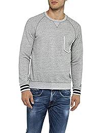 dc74635177 Amazon.co.uk: Replay - Jumpers, Cardigans & Sweatshirts / Men: Clothing