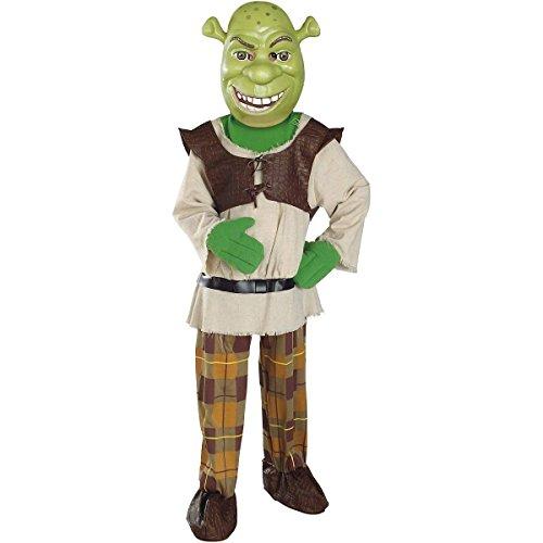 Shrek Jungen Kinder Fasching Karneval Kostüm Costume 98-104