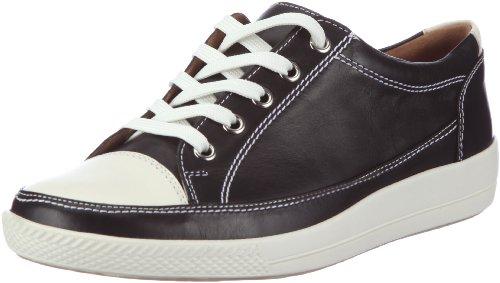 Ganter Giulietta, Weite G 3-204110-41020 Damen Sneaker Schwarz (schwarz/weiss 0102)