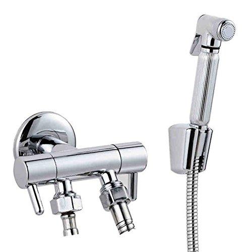 HCP Tout robinet de cuivre toilettes pistolet/bidet/bidet/buse Bidet/Kit de rinçage-A