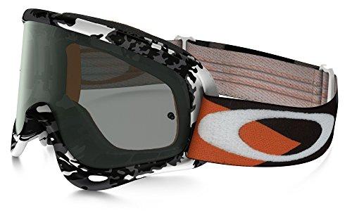 Oakley O Frame Mx Lunettes Cross Falcons–Gris foncé Orange