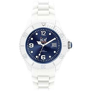 ice watch damen armbanduhr sili weiss blau small si wb s s. Black Bedroom Furniture Sets. Home Design Ideas