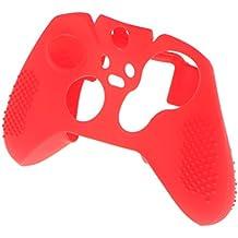 MagiDeal Housse de Protection de Peau Couverture de Sécurité en Silicone Souple de Manette Cas Anti-Choc pour XboX Controleur - Rouge