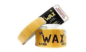 Da'Dude Da'Wax Extrem Stark Haar wachs Matt Finish - Bestes professionelles styling Haarwachs - langanhaltend in einer hochwertigen hölzernen Dose mit Geschenkbox - Perfektes Geschenk