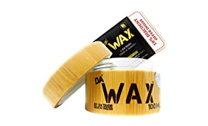 Da'Dude Da' Wax Hair Wax Strong Hold - Natural Matte Finish - Best Salon Professional in a Deluxe Wooden Gift Tub - 100ml
