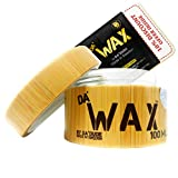 Da'Dude Da' Wax Hair Wax Strong Hold - Natural Matte Finish - Best Salon Professional in a Deluxe Wooden Gift Tub - 100ml