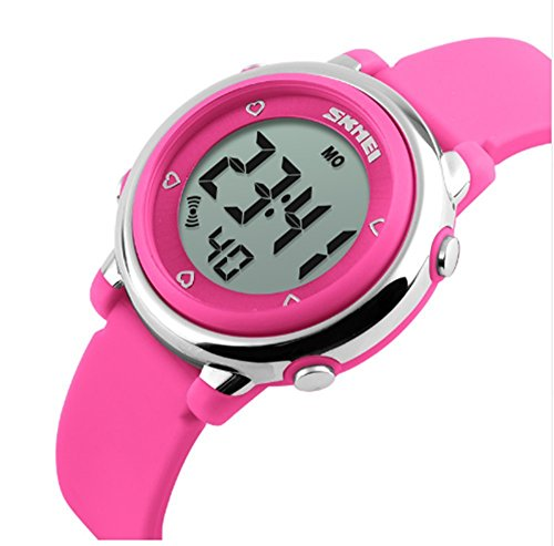 762da46d8148 ALPS Kids Multi Función Digital LED agua resistantsport reloj (rosa)