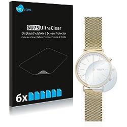 Savvies Skagen Hybrid Smartwatch Mini Hald (34mm) Protector Pantalla Pelicula Protectora [6 Unidades] Screen Protector